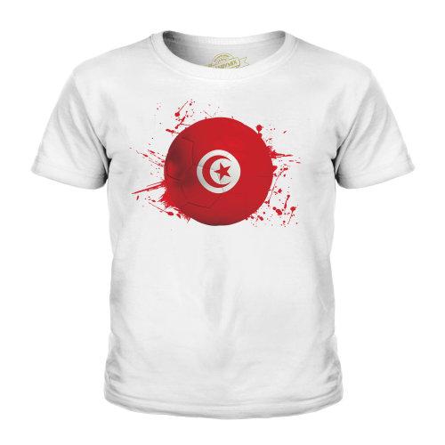 Candymix - Tunisia Football - Unisex Kid's T-Shirt