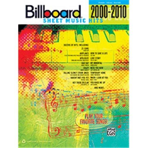 Alfred 00-35002 BILLBOARD SHEET MUSIC 2000-2010 PVG