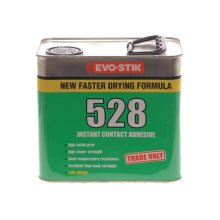Evo-Stik 30813330 528 Instant Contact Adhesive 2.5 Litre