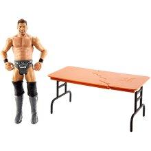 WWE GGP03 Wrekkin' 6-inch The Miz Action Figure with Wreckable Accessory, Multicoloured