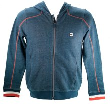 Hugo Boss Boys Sweatshirt Hoodie Blue