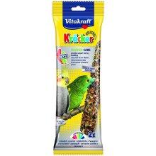 Vitakraft Kracker Feathercare Cockatiel/parrot Sticks 2 Pack (Pack of 5)