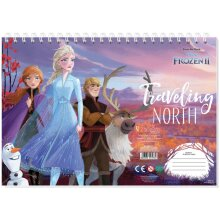 drawing book Frozen II Traveling 23 x 33 cm paper