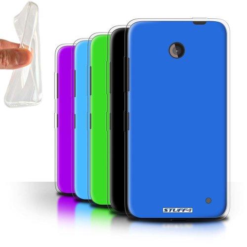 Colours Nokia Lumia 630 Phone Case Transparent Clear Ultra Soft Flexi Silicone Gel/TPU Bumper Cover for Nokia Lumia 630