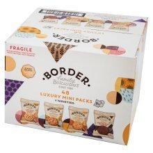 Border Biscuits 48 Luxury Mini Packs (4 Varieties)