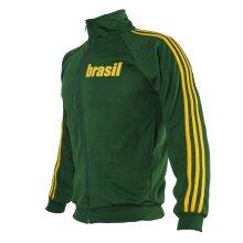 Brazil Green Capoeira Retro Zipped Unisex Jacket