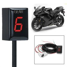 Motorcycle Gear Indicator LED Display For SuzukiGSXR600 GSF650Portable