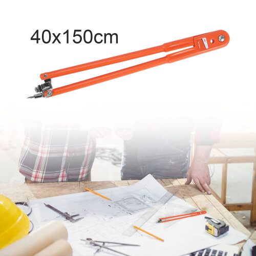 Precision Pencil Compass For Woodworking Scribing & Marking Tool Small