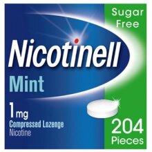 Nicotinell Nicotine Lozenge, 1 mg, Mint, 204 Pieces (Stop Smoking Aid)