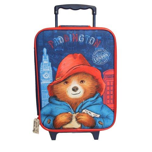 Paddington Bear London Trolley Bag Suitcase