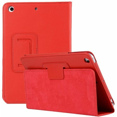 """(Red) Leather Wallet Flip Case Cover For Apple iPad 10.2"""" 2020 8th Gen"""