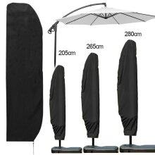 Large Deluxe Cantilever Parasol Banana Umbrella Weatherproof Cover Garden Patio