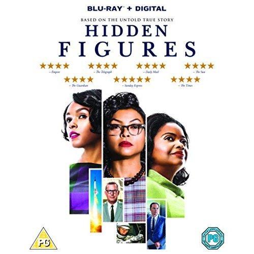 Hidden Figures Blu-Ray [2017]