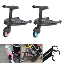 Child Buggy Stroller Step Board Toddler Wheeled Pushchair Connector