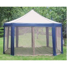 Marquee Tent Anti-UV Canopy Tent Awning Marquee Gazebo