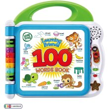 Leap Frog Learning Friends 100 Words Book - Educational Toy With Lights & 2 Songs