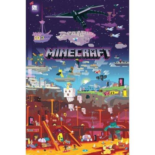 Gb Eye Minecraft World Beyond Maxi Poster