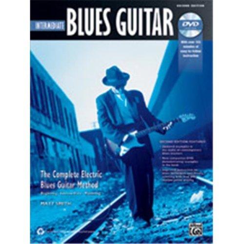 Alfred 00-40883 BLUES INTERMED GTR 2ND ED-BK&DVD
