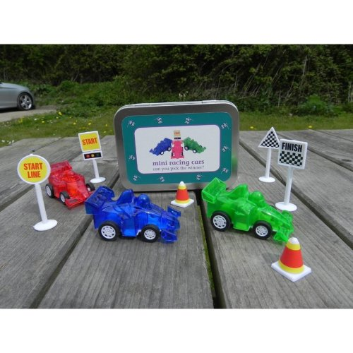 Mini Racing Cars Gift in a Tin by Apples to Pears
