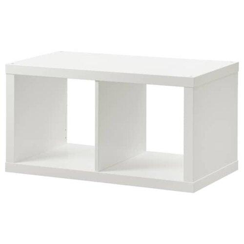 New Ikea KALLAX Shelving unit, white 77x42 cm