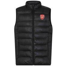 Arsenal FC Official Football Gift Boys Padded Body Warmer Gilet
