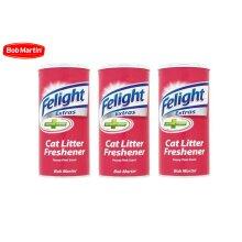 3 X BOB MARTIN FELIGHT CAT LITTER FRESHNER 300ML