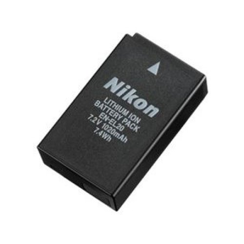 Nikon EN EL20 Rechargeable Li ion Battery repl