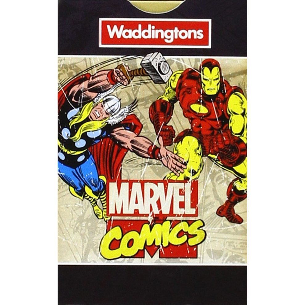 Marvel Comic Retro Waddingtons Number 1 Playing Cards