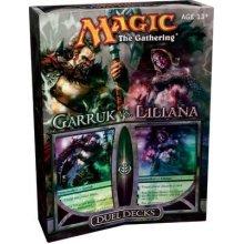 Magic The Gathering Garruk vs Liliana Duel Deck