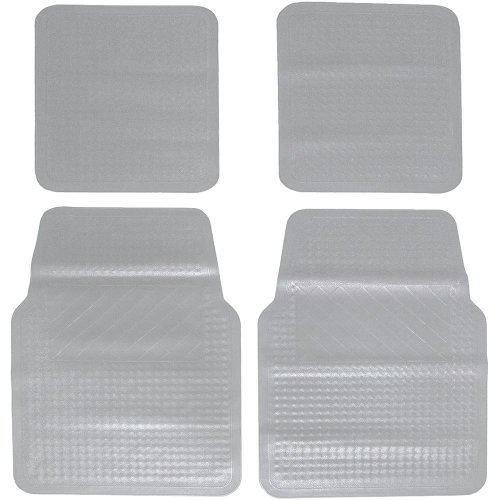 Equip Utility Car Mat Set - Transparent