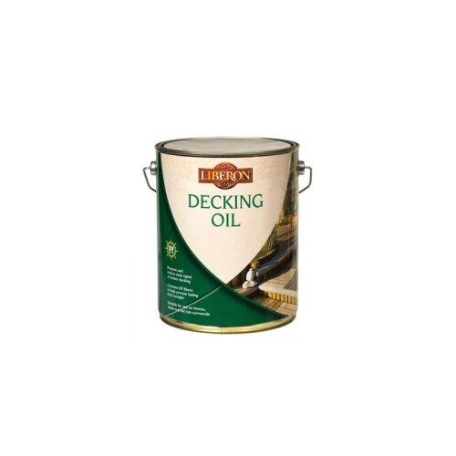 Liberon 5L Medium Oak Decking Oil Protection