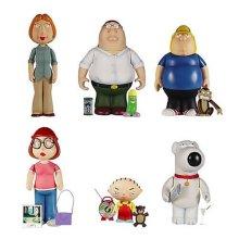 Family Guy Mezco Mini Figure Deluxe Set