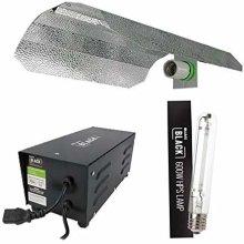 Lumii 600w Ballast Grow Light Kit Hydroponics Black 600w Bulb HPS Dual Spec (600W)SALE
