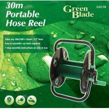 Portable Garden Hose Pipe Holder / Reel - Holds up to 30m Hose