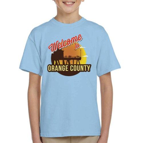 Welcome To Orange County Retro Kid's T-Shirt