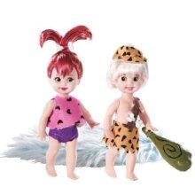 Barbie Collector Silver Label - The Flintstones (Pebbles and Bamm-Bamm)