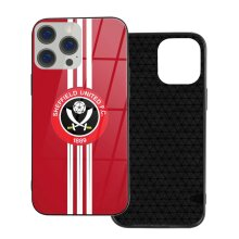 Sheffield United FC Phone Cases Compatible with iPhone 12/ iPhone 12 Pro/ 12 Mini/ 12 Pro Max Glass Back Cover