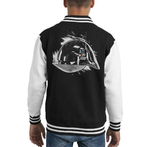 Original Stormtrooper Imperial Gunner Helmet Kid's Varsity Jacket
