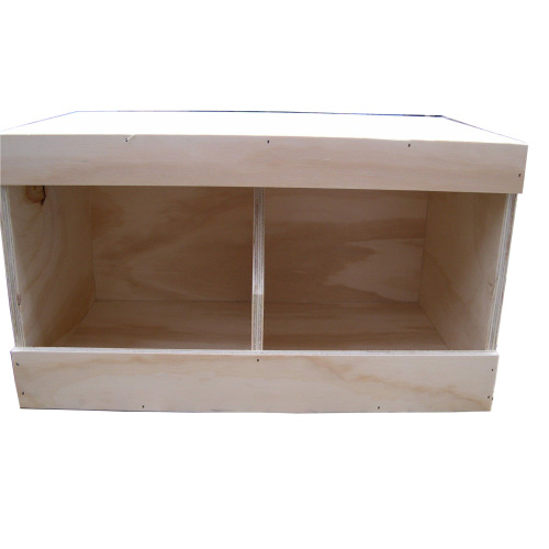 """Chicken nest boxes double size 21"""" x 12"""" x 13"""" Coop Nest box Chickens"""