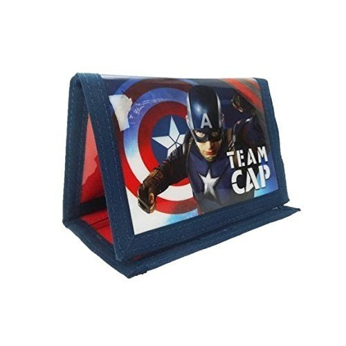 Marvel 'Team Cap' Tri-fold Wallet
