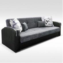 Malta 3 Seater Sofa Bed With Ottoman Storage