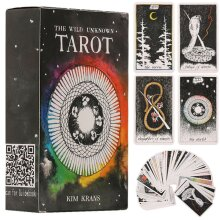 78pcs The Wild Unknown Tarot Deck Rider-Waite Oracle Fortune Telling Cards