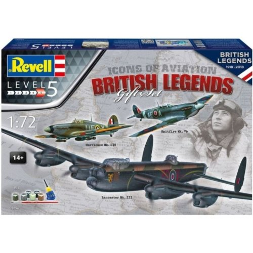 RV05696 - Revell 1:72 - 100 Years RAF: Flying Legends