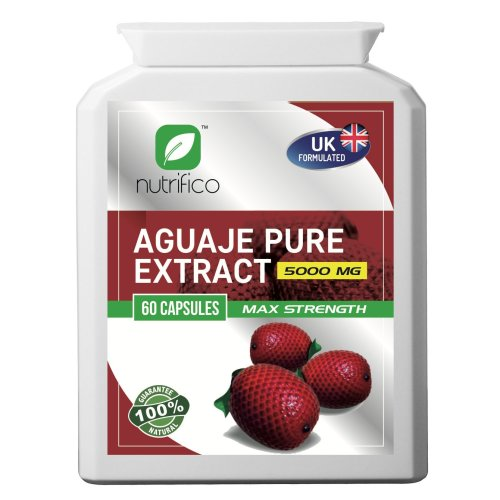 Aguaje Pure 10:1 Extract 5000mg High Strength Concentrated Pills