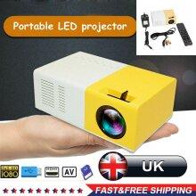 YG300 Mini Projector HD 1080p Home Theater Cinema Portable LED