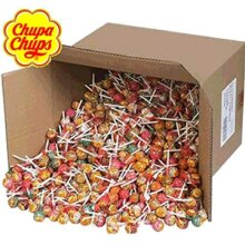 Large 14KG Box of Approx 1200 Chupa Chups, Ideal for Party Bag fillers