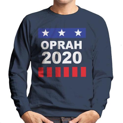 Oprah Winfrey For President 2020 Men's Sweatshirt