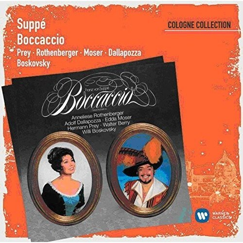 Anneliese Rothenberger / Willy Bostovsky Herman Prey - Suppe: Boccaccio (cologne Collection) [CD]