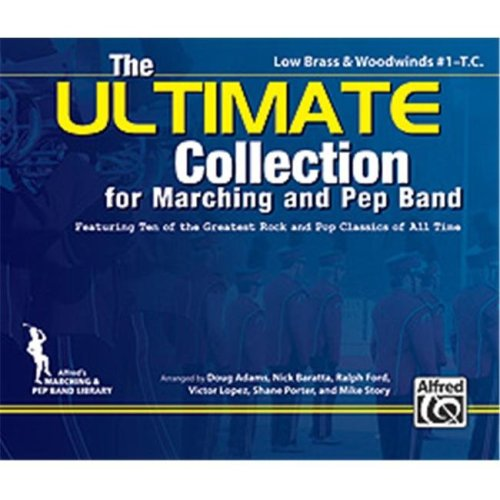 Alfred 00-34690 The ULTIMATE Collection for Marching and Pep Band - Music Book