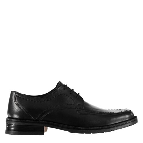 Kangol Mens Glinton Lace Up Shoes Derby Slight Heel Formal Tonal Stitching